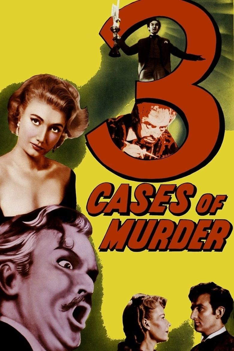 Three Cases of Murder Poster