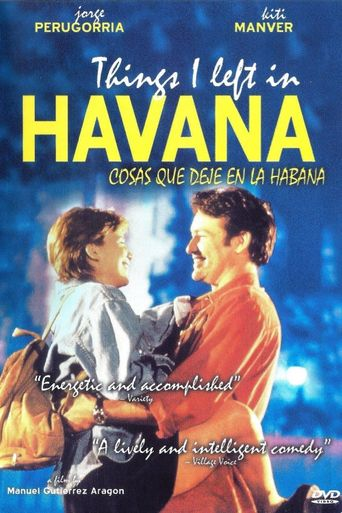 Things I Left in Havana Poster