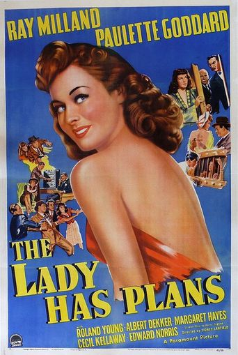 The Lady Has Plans Poster