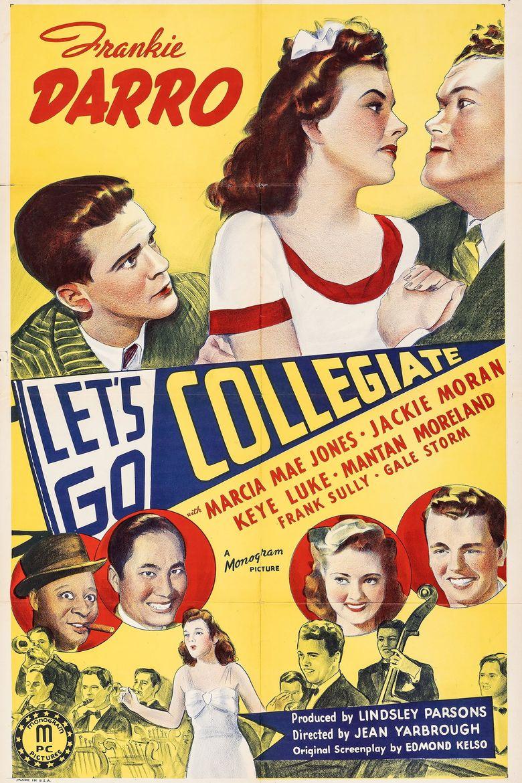 Let's Go Collegiate Poster