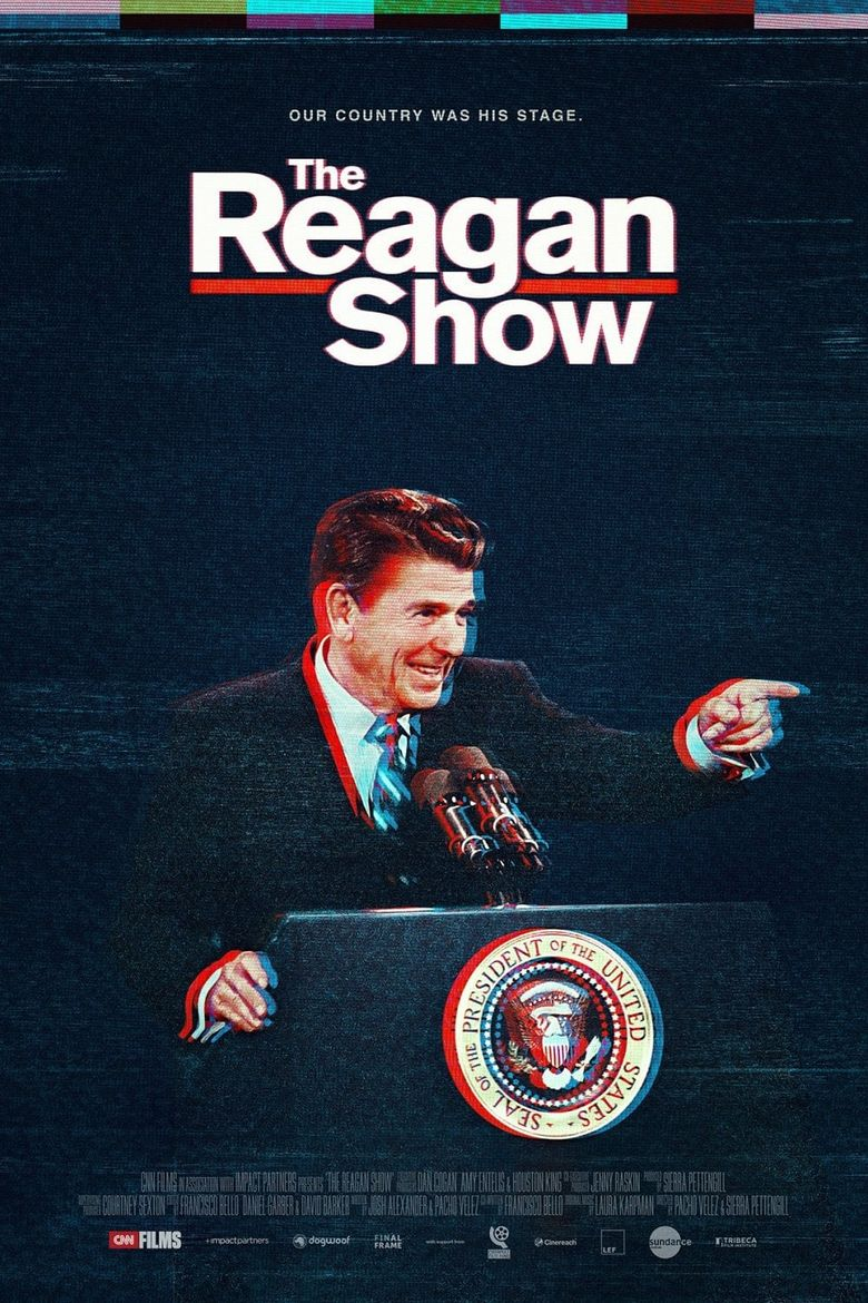The Reagan Show Poster