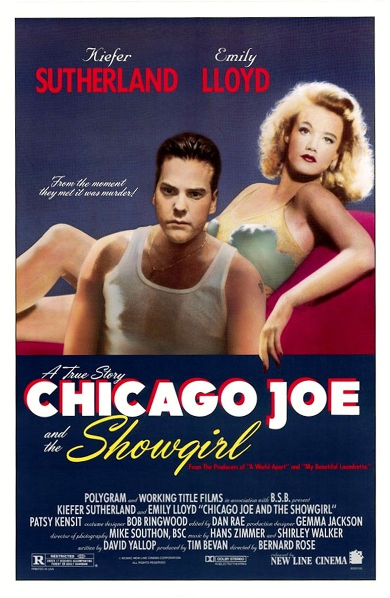 Chicago Joe and the Showgirl Poster