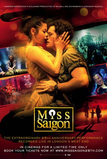 Miss Saigon: The 25th-Anniversary Performance Poster