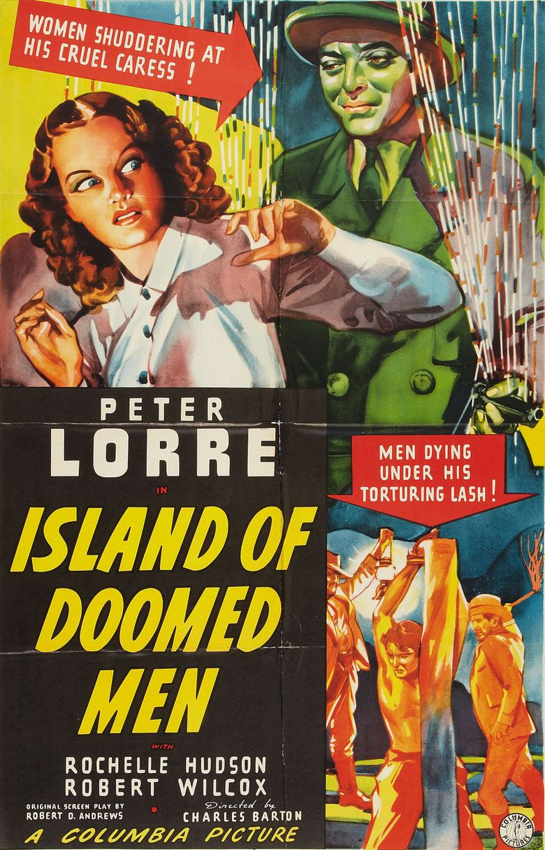 Island of Doomed Men Poster