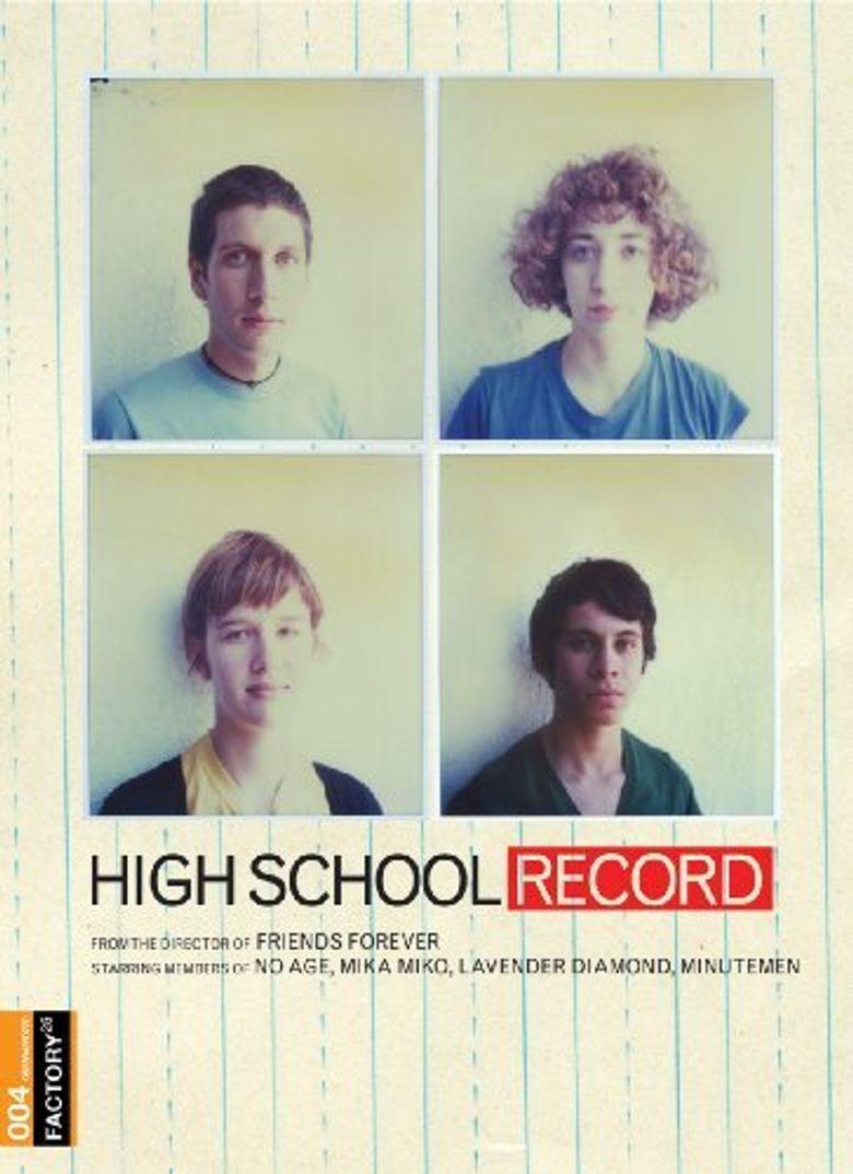 High School Record Poster