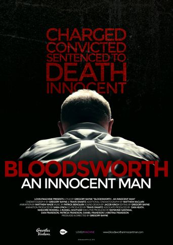 Bloodsworth: An Innocent Man Poster