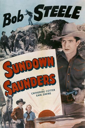Sundown Saunders Poster