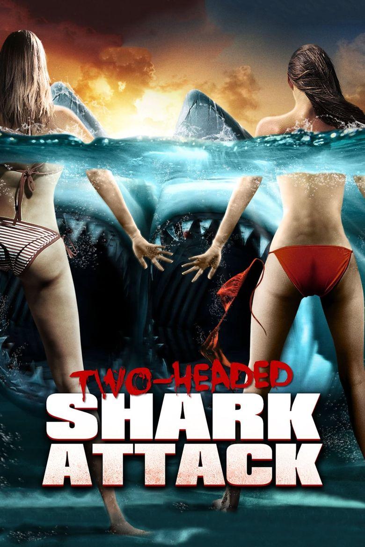 2-Headed Shark Attack Poster