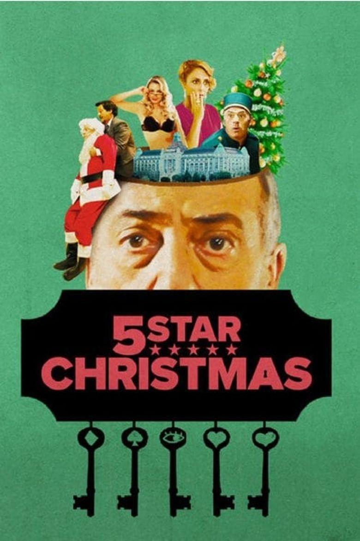 5 Star Christmas Poster