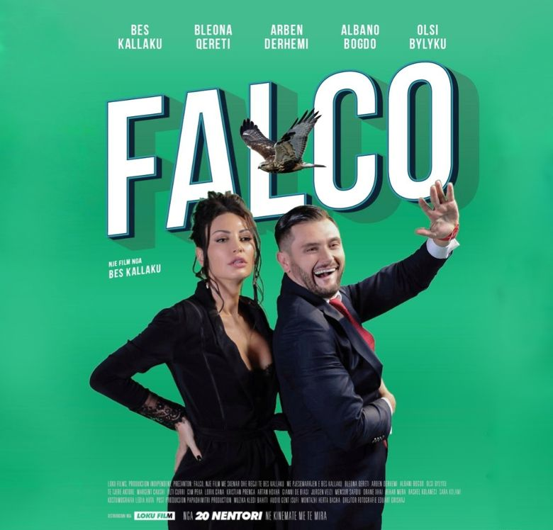 Falco Poster