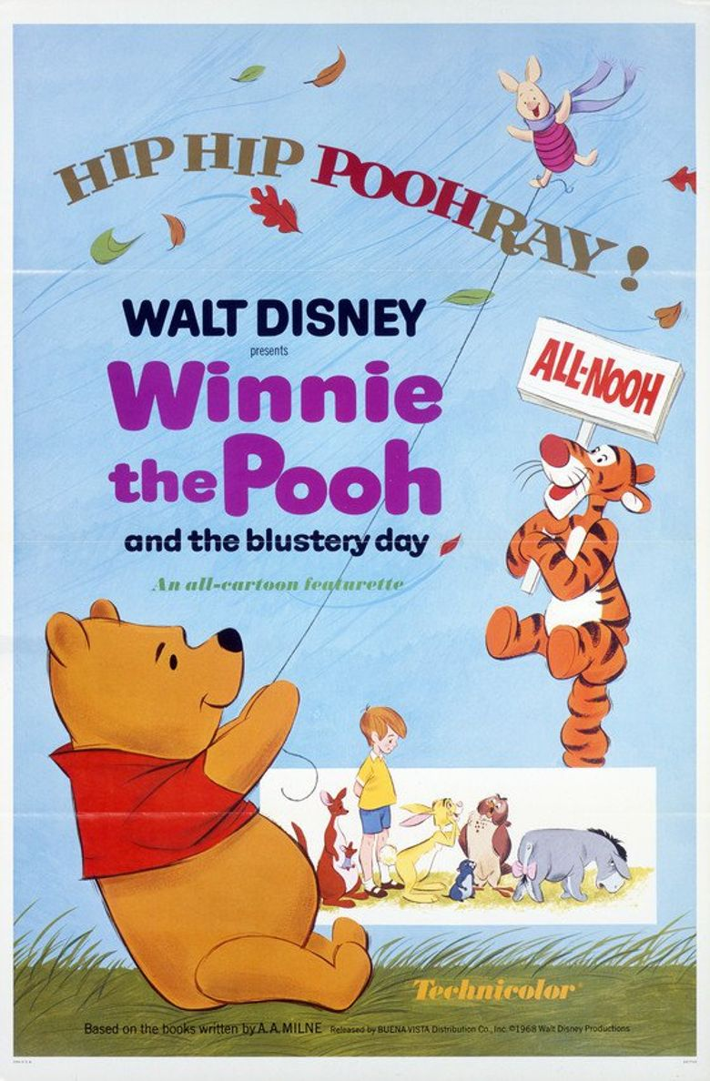 Winnie the Pooh and the Blustery Day Poster