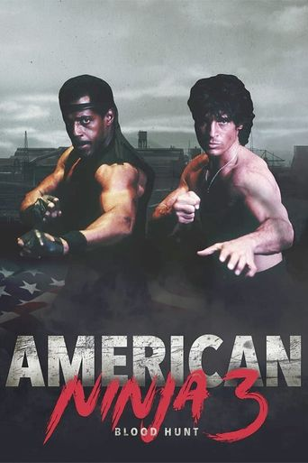 American Ninja 3: Blood Hunt Poster