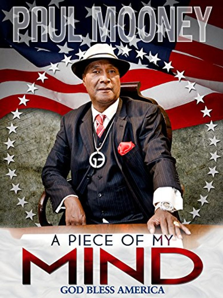 Paul Mooney: A Piece of My Mind - God Bless America Poster
