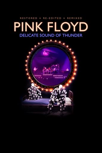 Pink Floyd: Delicate Sound of Thunder Poster