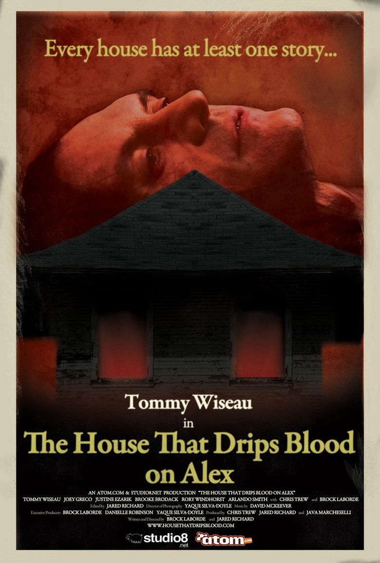 The House That Drips Blood on Alex Poster