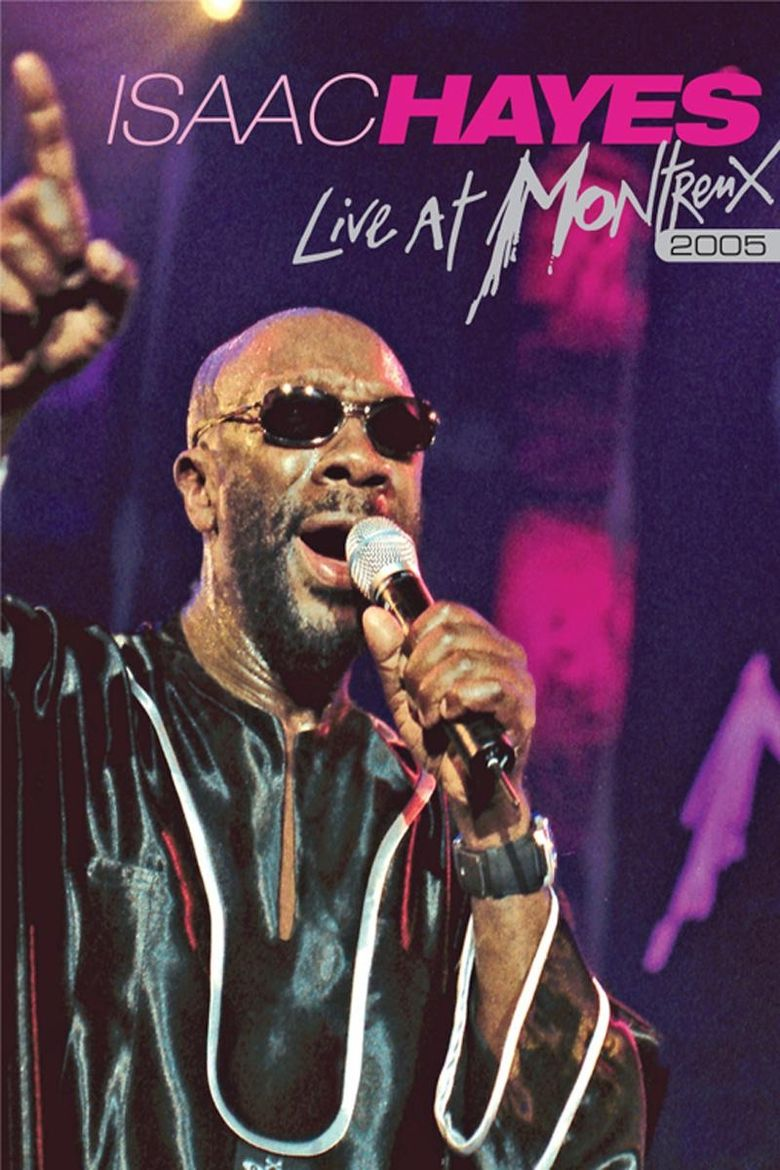 Isaac Hayes: Live at Montreux Poster