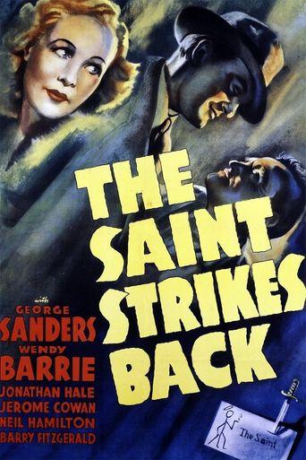The Saint Strikes Back Poster