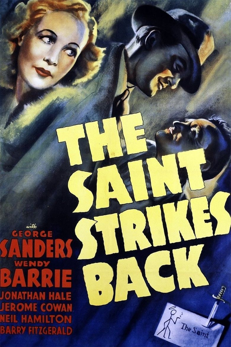 The Saint Strikes Back Poster