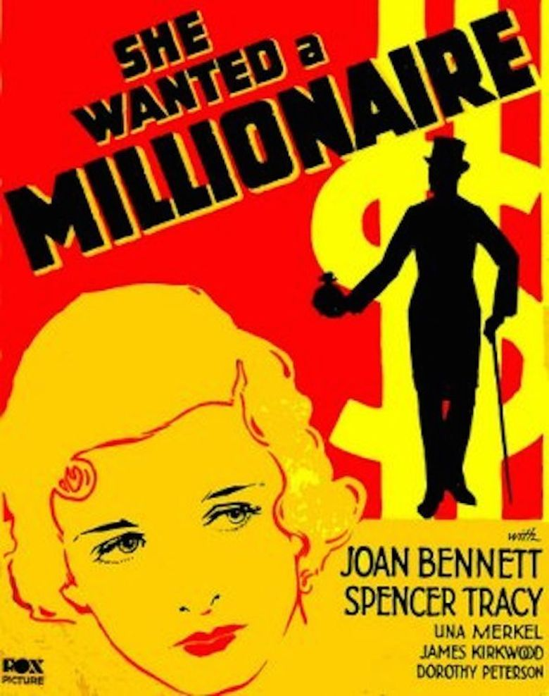 She Wanted a Millionaire Poster