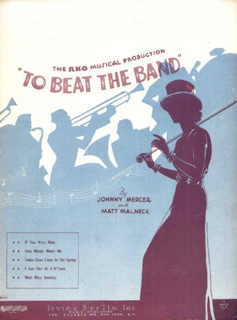 To Beat the Band Poster