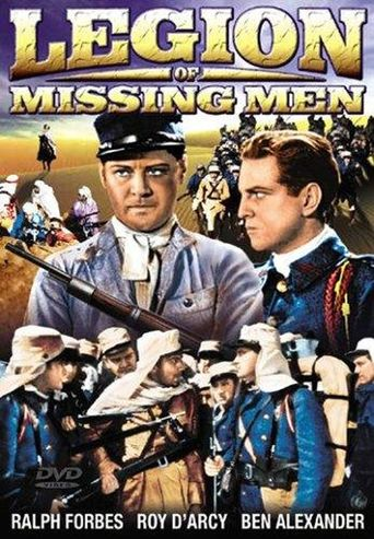 The Legion of Missing Men Poster