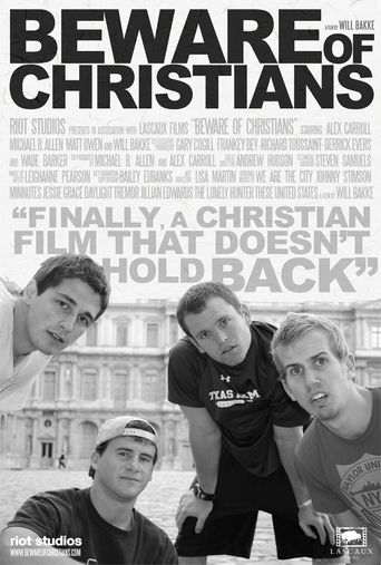 Beware of Christians Poster
