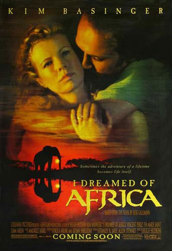 I Dreamed of Africa Poster