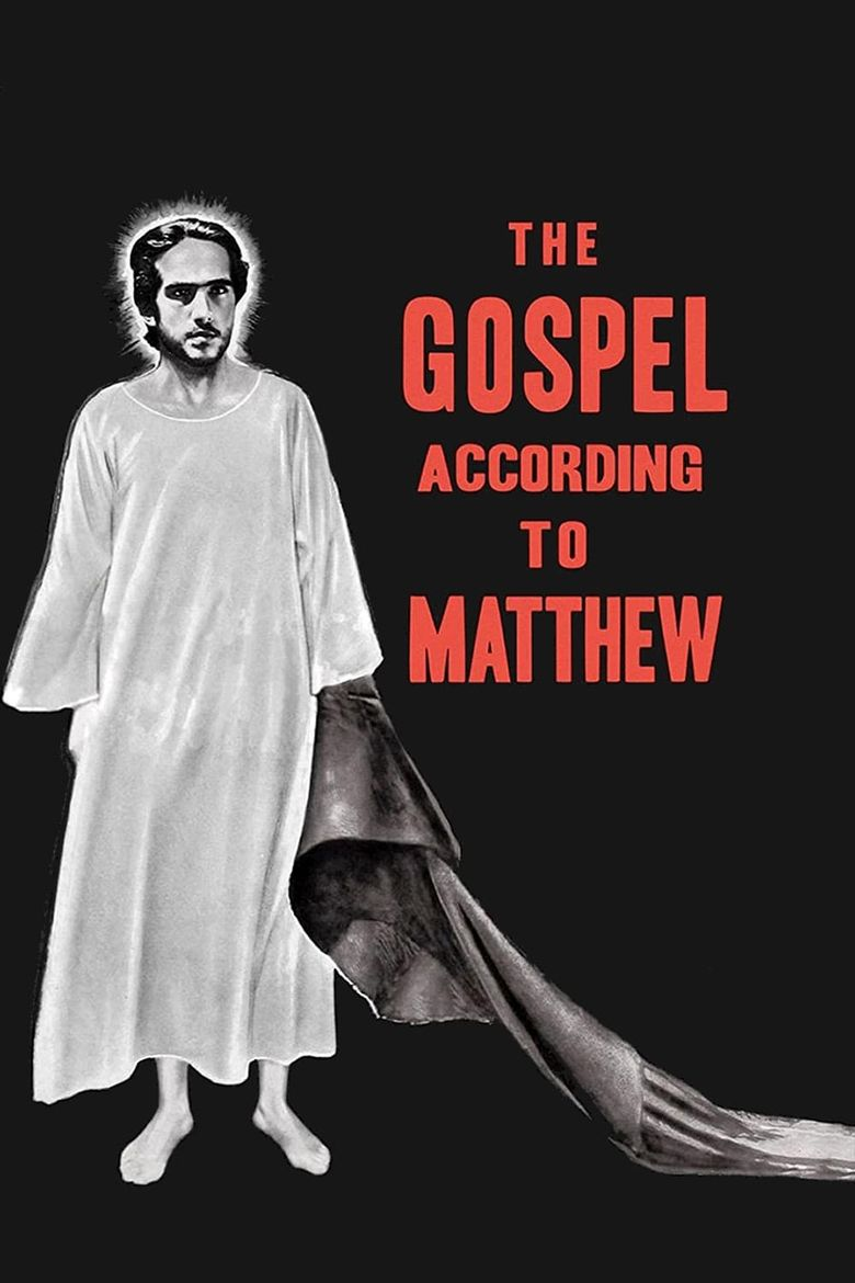 The Gospel According to Matthew Poster