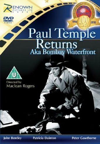 Paul Temple Returns Poster