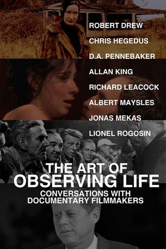 The Art of Observing Life Poster