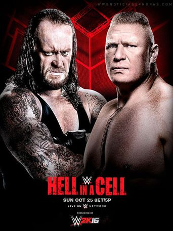 WWE Hell in a Cell 2015 Poster