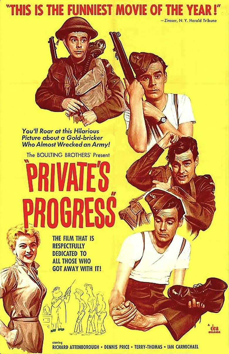 Private's Progress Poster