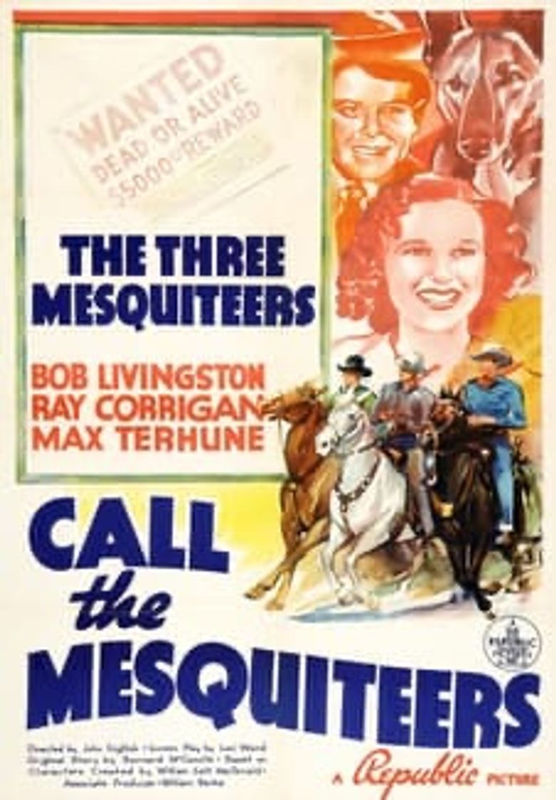 Call The Mesquiteers Poster