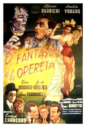 El Fantasma de la Opereta Poster