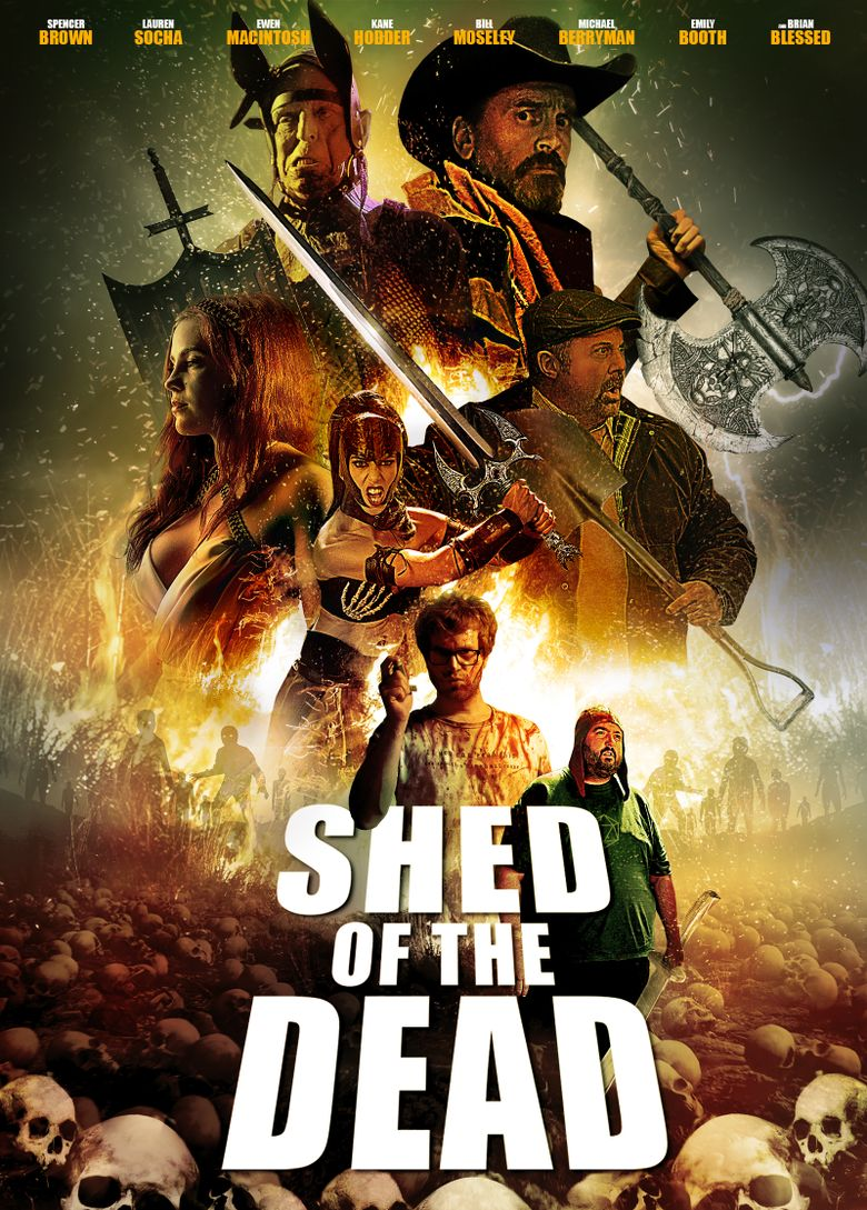 Shed of the Dead Poster