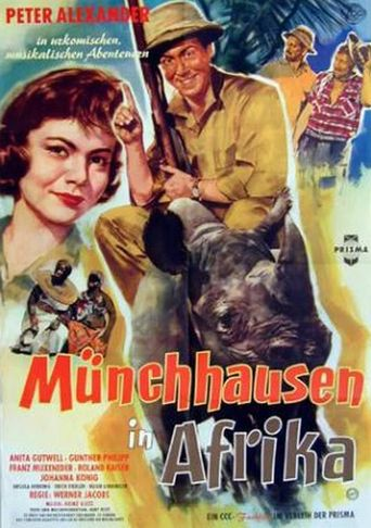 Münchhausen in Afrika Poster