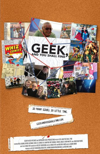 Geek, and You Shall Find Poster