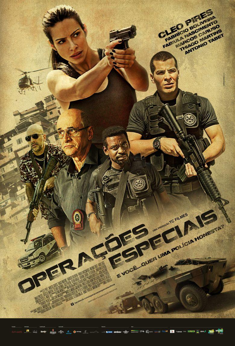 Operações Especiais Poster