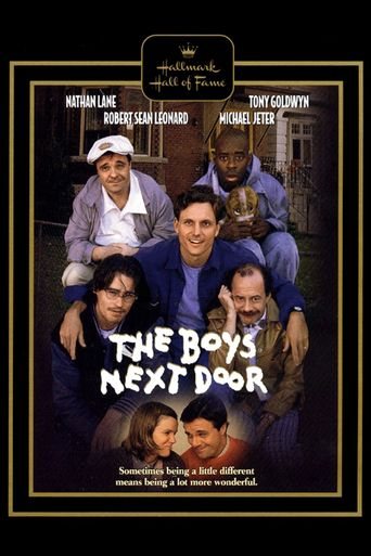 The Boys Next Door Poster