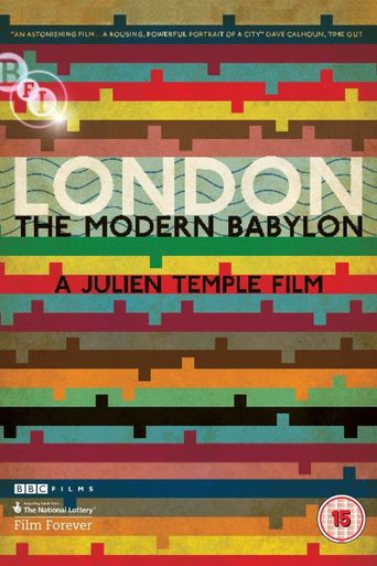 London: The Modern Babylon Poster