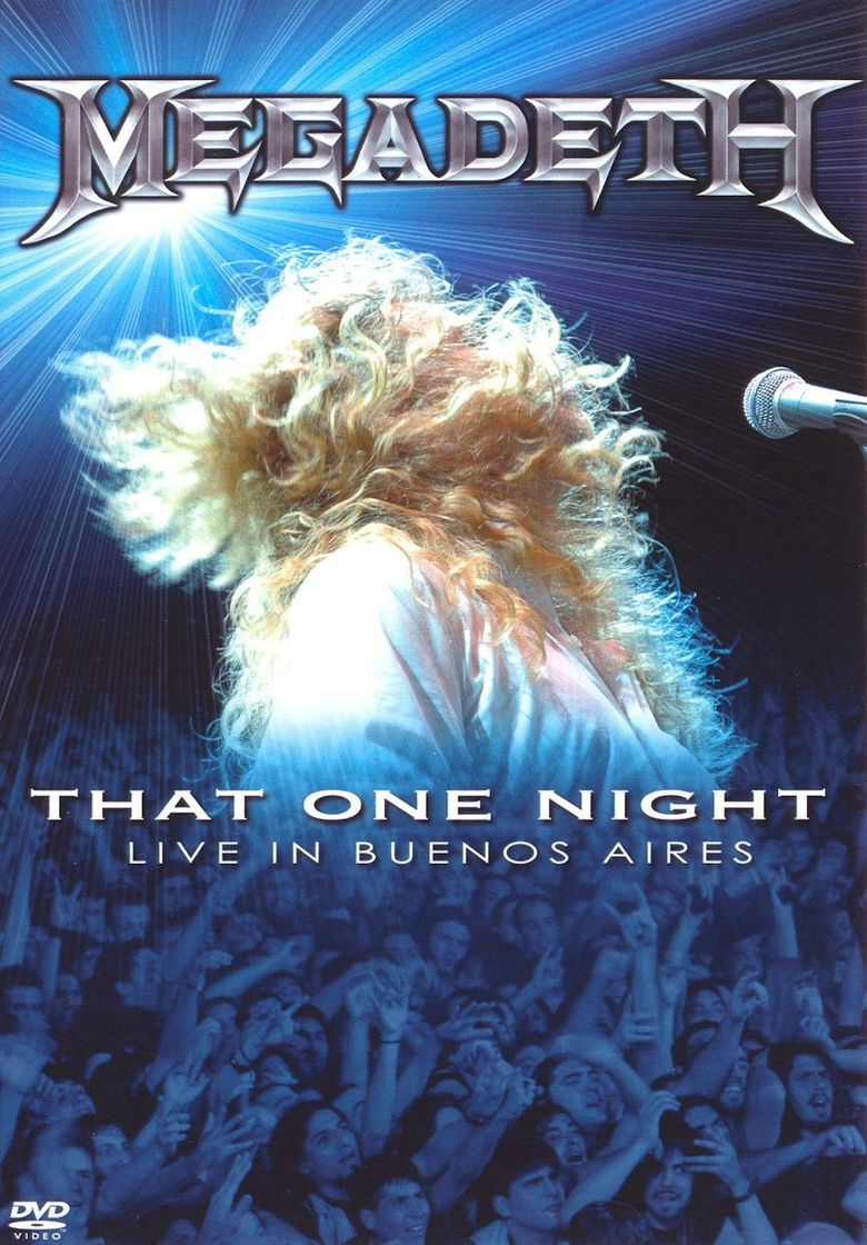 Megadeth: That One Night Poster