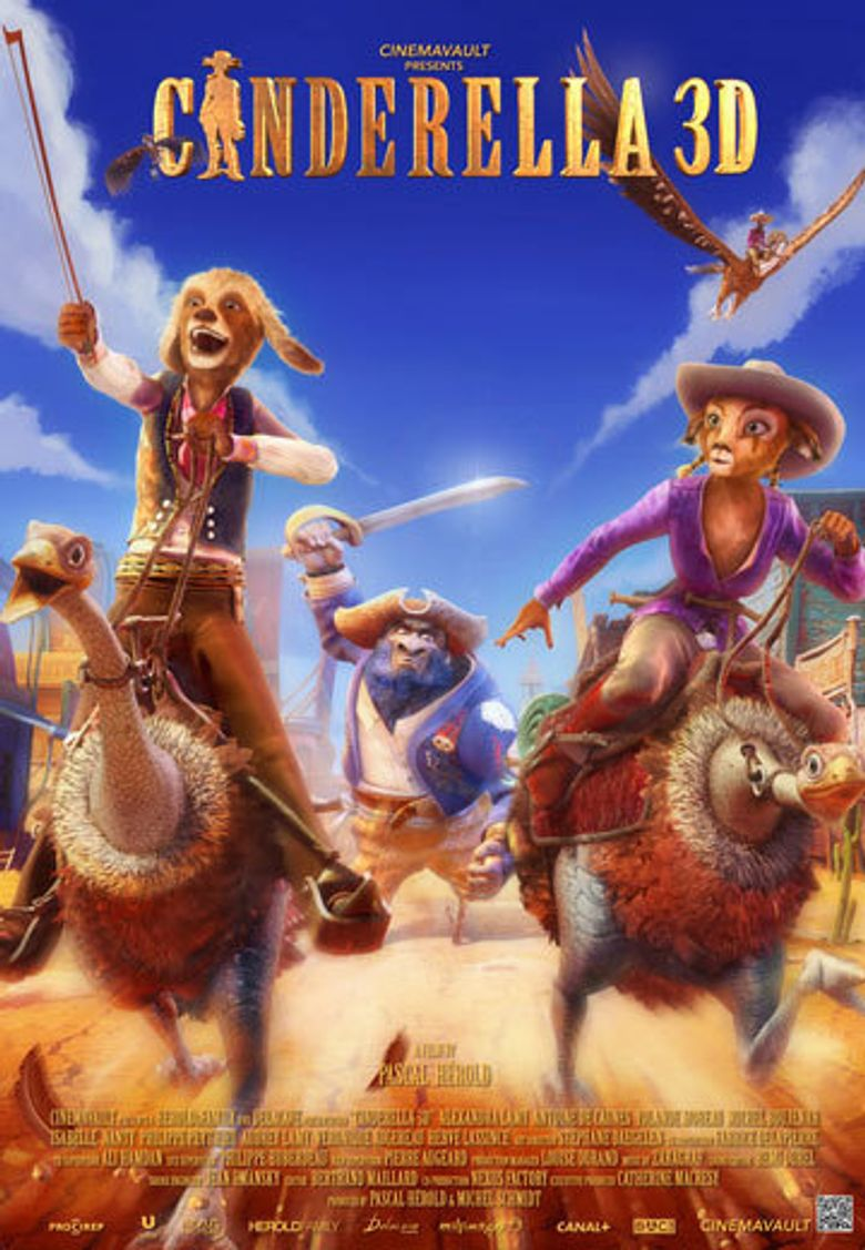 Cinderella Once Upon A Time In The West Poster