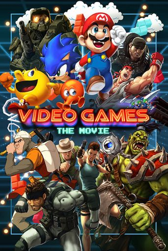 Video Games: The Movie Poster