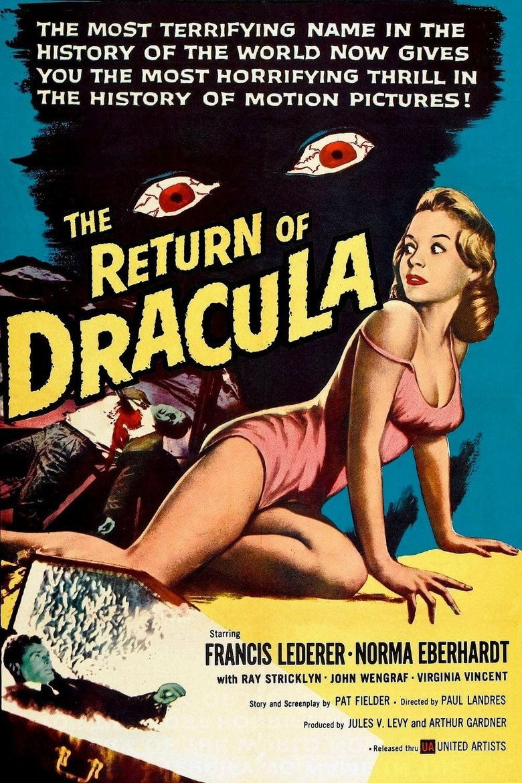 The Return of Dracula Poster