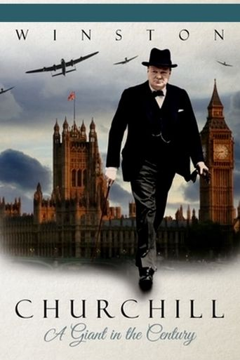 Winston Churchill: A Giant in the Century Poster