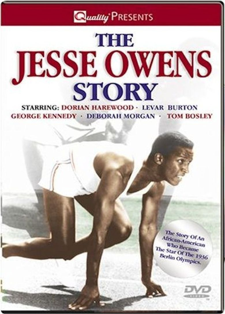 The Jesse Owens Story Poster