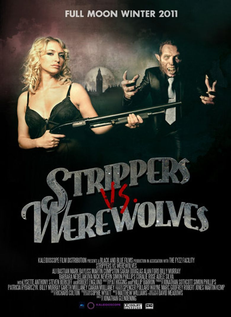 Strippers Vs. Werewolves Poster