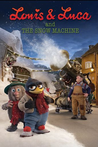 Louis & Luca and the Snow Machine Poster