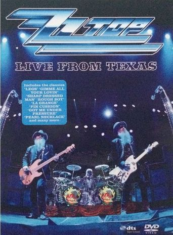 ZZ Top : Live From Texas Poster