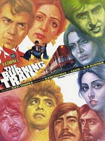 The Burning Train Poster